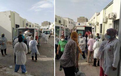 Covid : Débordé, l'hôpital d'EL-Fahs contraint de transférer en urgence ses patients à Zaghouan et à Tunis