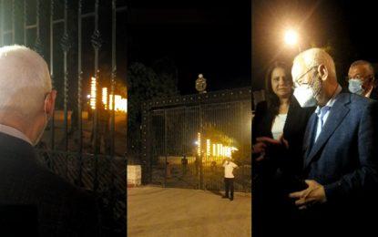 Ghannouchi demande à Saïed, «au nom de la présidence de l'Assemblée», de revenir sur le décret 117