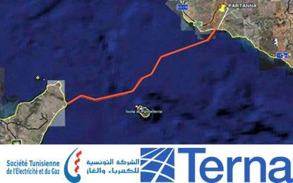 Démarrage de l'étude sur le projet de connexion électrique sous-marine entre la Tunisie et l'Italie