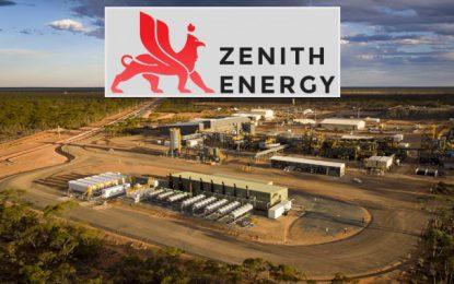 Tunisie : Zenith Energy espère un revenu de 4,5 millions de dollars