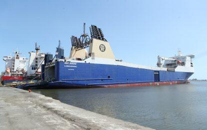 Port de Radès : Arrivée du premier lot de l'aide médicale italienne pour la Tunisie