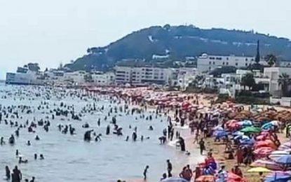 Covid-19 – Grand Tunis : L'accès à la plage ne sera pas interdit le week-end
