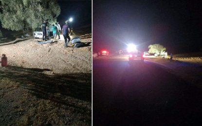 Sfax : Trois morts et un blessé dans un accident à Menzel Chaker