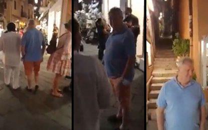 Délaissant son ministère, Ali Kooli se paie du bon temps en Italie