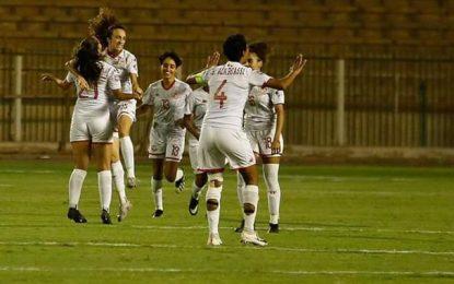 Coupe Arabe des nations : Les footballeuses tunisiennes se qualifient pour les demi-finales (Photos)