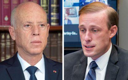 Sullivan assure Saïed du ferme soutien des Etats-Unis au peuple tunisien