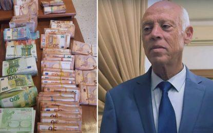 Saïed commente l'affaire de la juge interceptée avec 1,5 MD en devises puis maintenue en liberté