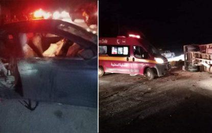 Tunisie-Kélibia : Décès de 3 personnes d'une même famille dans un accident de la route