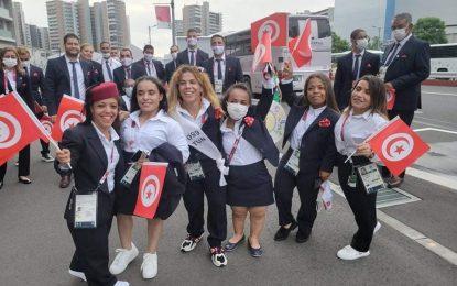 En photos, l'équipe de Tunisie aux Jeux paralympiques de Tokyo, déclarés officiellement ouverts