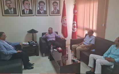 Tunisie : Rencontre entre Noureddine Taboubi et une délégation d'Attayar