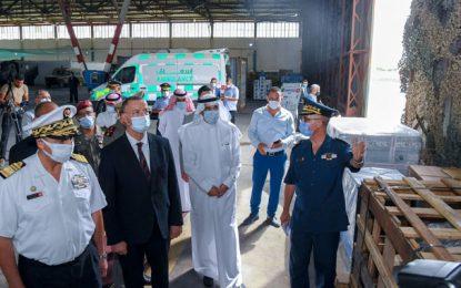 Solidarité-Covid : La Tunisie reçoit un nouveau don de l'Arabie saoudite (Photos)