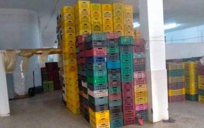Tunisie : 11 tonnes de dattes pourries, saisies à l'Ariana (Photos)