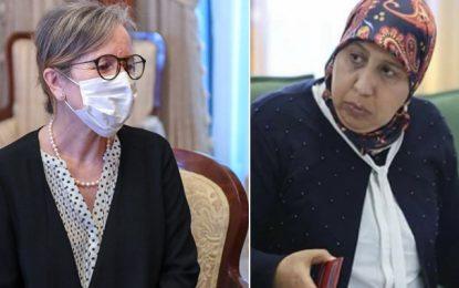 Réaction de Yamina Zoghlami après la nomination de Najla Bouden à la tête du gouvernement
