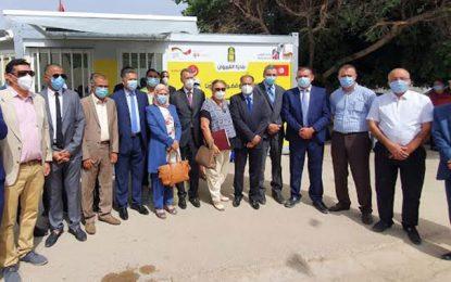 L'Allemagne remet à la Tunisie sept conteneurs mobiles pour les vaccins anti-Covid 19