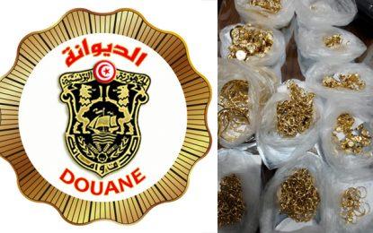 Tunisie-Contrebande : La garde douanière saisit, à Sfax, des bijoux en or d'une valeur de 400.000 dinars (Photos)