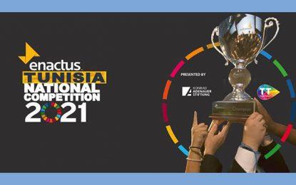 Enactus Tunisia organise sa compétition nationale les 9 et 10 septembre 2021