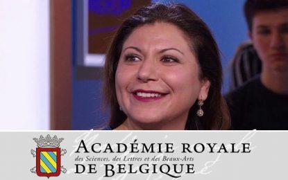 Précision : Hela Ouardi n'a pas été élue membre titulaire de l'Académie royale de Belgique