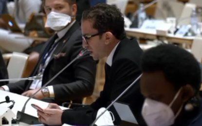 Gel de l'Assemblée en Tunisie : Depuis Vienne, Khlifi appelle l'Union interparlementaire à intervenir (Photos & Vidéo)