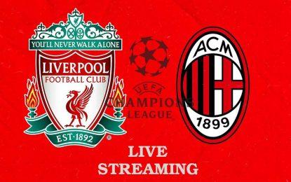 Liverpool – Milan AC en live streaming : Ligue des champions 2021