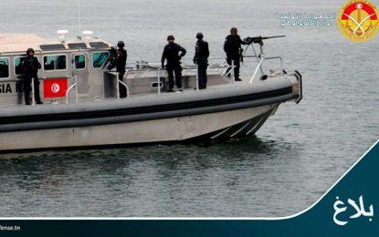 Tunisie : 100 migrants secourus par la Marine nationale au large de Chebba