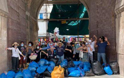 World Clean Up Day 2021 : Opération de nettoyage au cœur de la Médina de Tunis (Photos)