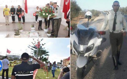 Tunisie : Hommage à l'adjudant de la GN Sami Mrabet, tombé pour la patrie le 6 septembre 2020 à Sousse (Photos)