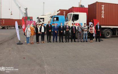 Solidarité Covid: La Tunisie reçoit 4.422.000 masques chirurgicaux offerts par l'Allemagne