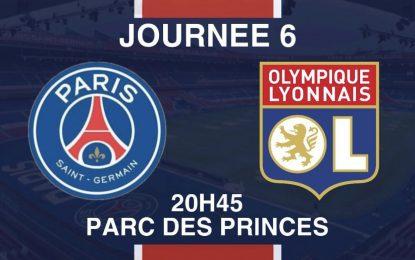 PSG – OL en live streaming : 19-09-2021