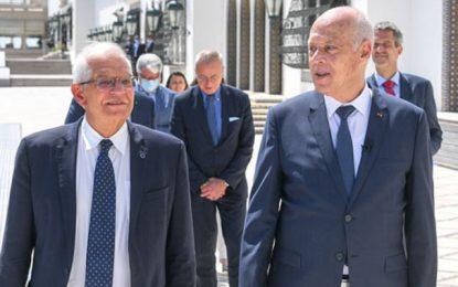 Tunisie : Josep Borrell s'exprime sur sa rencontre avec Kaïs Saïed