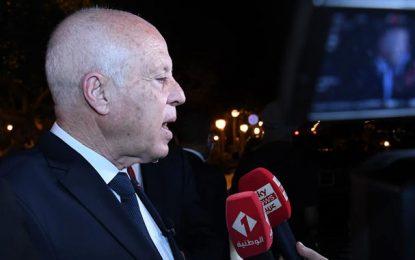 Tunis : Depuis l'Av. Bourguiba, Saïed évoque la révision de la Constitution et la formation du futur gouvernement (Photos)