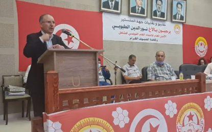 Taboubi appelle à la mise en place d'un gouvernement et à des élections anticipées