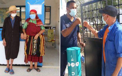 Quatrième journée de vaccination massive en Tunisie : Plus de 404.000 personnes vaccinées (Photos)