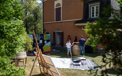 L'artiste tuniso-suisse Issam Rezgui inaugure une résidence artistique internationale en Suisse