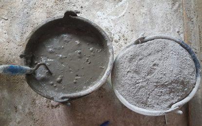Tunisie : Une diminution considérable du prix du ciment gris