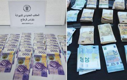Aéroport Tunis-Carthage : La douane saisit des devises d'une valeur de plus de 250.000 dinars
