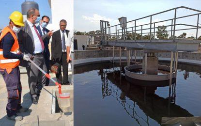 Kairouan : Inauguration de la nouvelle station d'épuration de Sbikha (Photos)