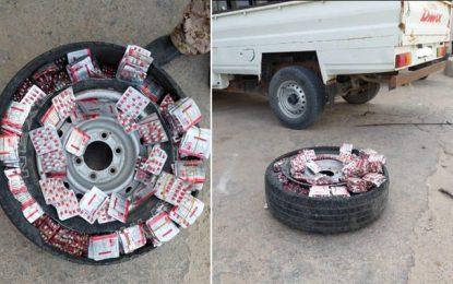 Tunisie : La garde douanière saisit plus de 13.700 pilules de stupéfiants à Ben Guerdane