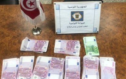 Aéroport Tunis-Carthage : Un voyageur étranger arrêté en possession de 111.000 euros