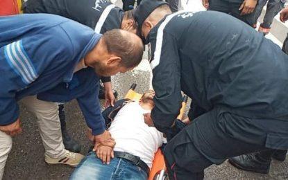 Tunis : Des journalistes de la chaîne nationale Watania agressés par des manifestants anti-Saïed