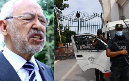 Tunisie : Ghannouchi annonce que le bureau de l'Assemblée est en réunion permanente et appelle les députés à reprendre le travail parlementaire