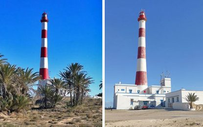 Le phare de Taguermess à Djerba : atteintes à répétition inquiétantes