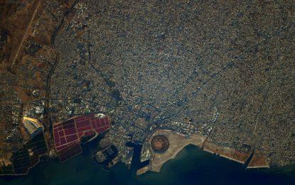 Après Tunis, Thomas Pesquet publie une photo de Sfax vue depuis l'espace