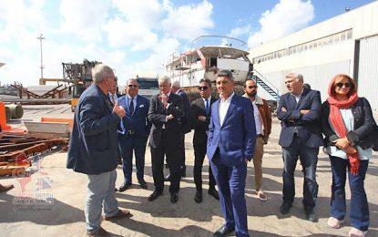 Tournée d'industriels britanniques à Bizerte en quête d'opportunités