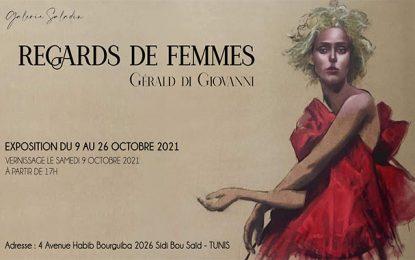 «Regards de femmes» : La nouvelle exposition de Gerald Di Giovanni à la galerie Saladin (Sidi Bou Saïd)
