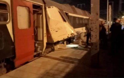 Tunisie : Au moins 20 blessés dans une collision entre deux trains à Megrine Riadh