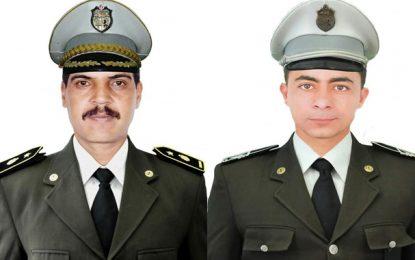 Garde nationale : Hommage au lieutenant Ferchichi et au sergent Hamdi tombés pour la patrie, il y a 8 ans