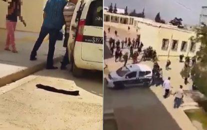 Kasserine : Une élève agresse une enseignante et des agents de police, au lycée Sbiba