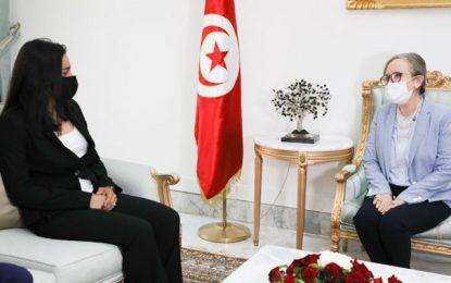 Ons Jabeur : «Très honorée d'avoir été accueillie par Mme Najla Bouden la cheffe du gouvernement» (Photos)